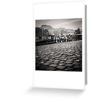 Bikes on the Seine Greeting Card