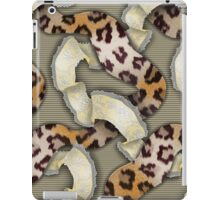 Leopards'n Lace - Yellow iPad Case/Skin