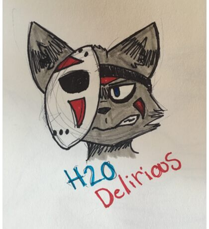 H20Delirious Ratcoon Sticker