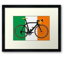 Bike Flag Ireland (Big - Highlight) Framed Print