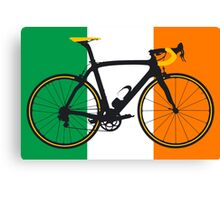 Bike Flag Ireland (Big - Highlight) Canvas Print
