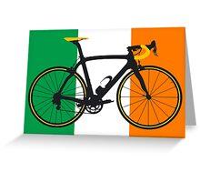 Bike Flag Ireland (Big - Highlight) Greeting Card