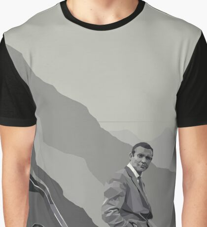 Sean Connery Graphic T-Shirt