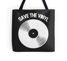 Save The Vinyl Tote Bag