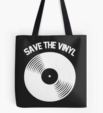 Save The Vinyl Tote Bag