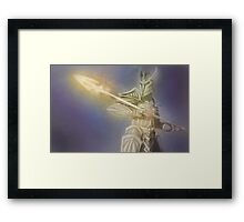 Aedric Spear Framed Print