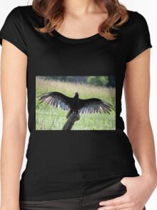 Turkey Vulture Women's Fitted Scoop T-Shirt