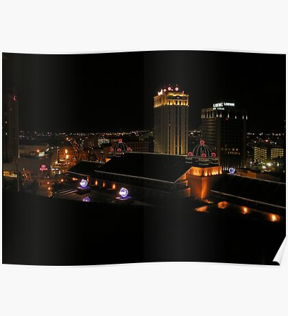 """The """"Big Easy"""" at Night  Poster"""