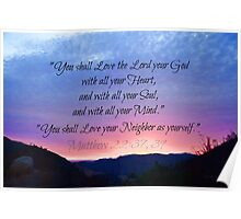 You Shall Love the Lord  Poster