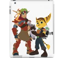 Jakchet and Clankster  iPad Case/Skin