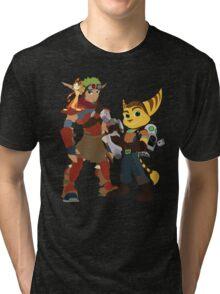 A Boy and His Lombax Tri-blend T-Shirt