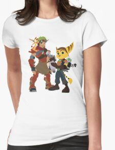 A Boy and His Lombax Womens Fitted T-Shirt