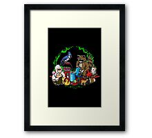 Regular Double Date Framed Print