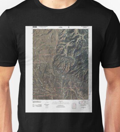 USGS TOPO Map Colorado CO Bear Creek 20110217 TM Unisex T-Shirt