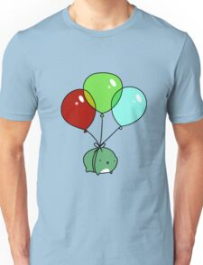 Frog with Balloons Unisex T-Shirt