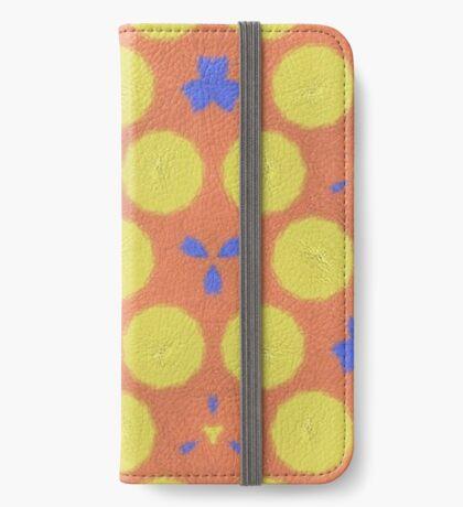 colorful trendy unique pattern iPhone Wallet/Case/Skin