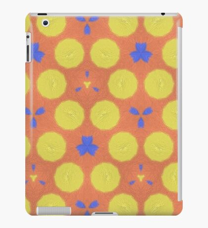 colorful trendy unique pattern iPad Case/Skin