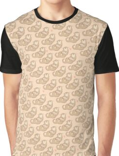 Cute reading otter pattern Graphic T-Shirt