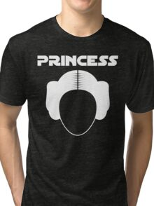Star Wars Princess Leia Carrie Fisher white Tri-blend T-Shirt