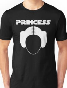 Star Wars Princess Leia Carrie Fisher white Unisex T-Shirt