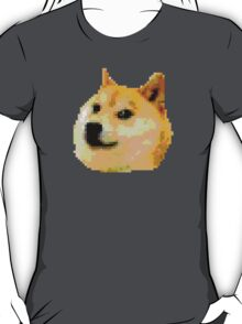 8-bit Doge Head T-Shirt