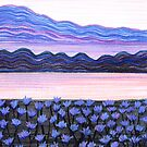 Perfect Pastels - Jacaranda Hues by Georgie Sharp