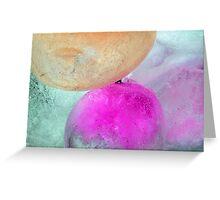 Coloured Ice Creation 1604 Greeting Card