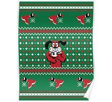 Festive Duck Hunt Sweater Poster