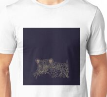 Vanishing Leopard and Orchid Unisex T-Shirt