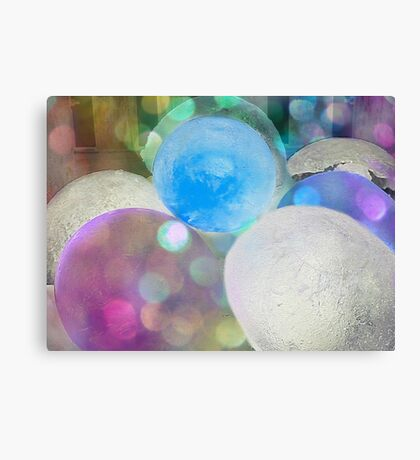 Coloured Ice Creation 1603 Canvas Print