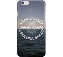 A Smooth Sea iPhone Case/Skin