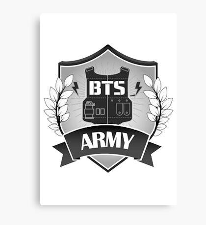 B.T.S ARMY Canvas Print