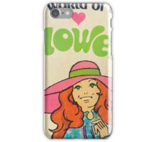 World of Love Flower Doll  iPhone Case/Skin