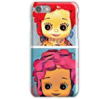 Funky Retro Doll iPhone Case/Skin