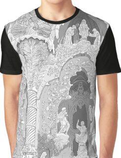 Detail of the facade ( Sagrada Familia ) Graphic T-Shirt