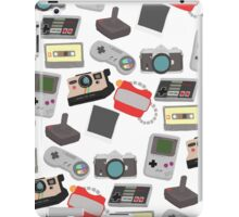 In with the old, nostalgic technology iPad Case/Skin