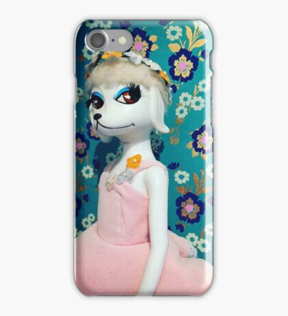Peteena Poodle iPhone Case/Skin