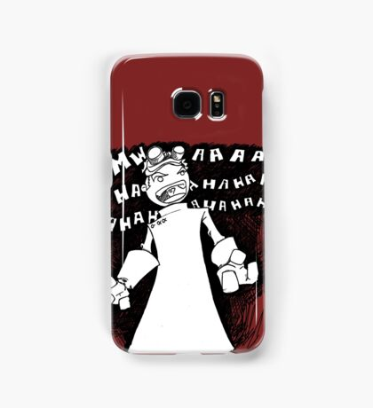 Doctor Horrible - Non Transparent Evil Laugh Samsung Galaxy Case/Skin