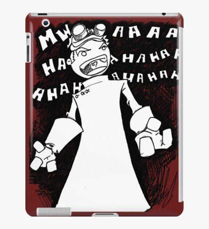 Doctor Horrible - Non Transparent Evil Laugh iPad Case/Skin