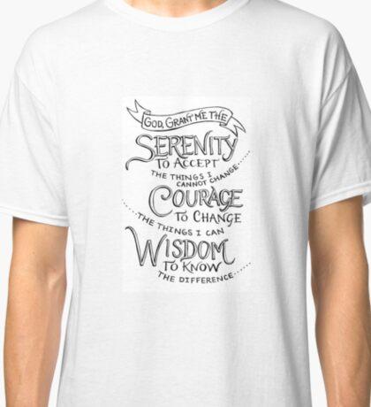 Simply the Serenity Prayer Classic T-Shirt