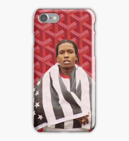 A$AP America Goyard  iPhone Case/Skin