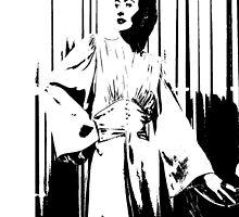 Barbara Stanwyck Silhouette by Museenglish