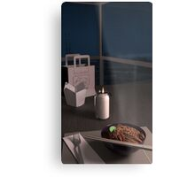Night Noodles Metal Print