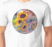 Basket of Sunflowers Unisex T-Shirt