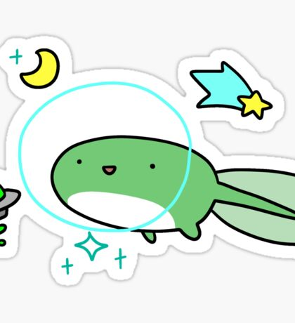 Space Tadpole Sticker