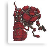 Hellbot Canvas Print
