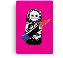 Lady Matryoshka  Canvas Print