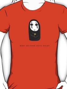Baby No Face says Gold? T-Shirt