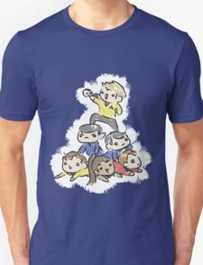 An entire space crew! T-Shirt