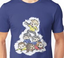 An entire space crew! Unisex T-Shirt
